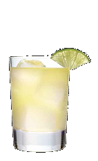 The Vanilla Sky drink recipe is an orange colored cocktail made from Three Olives vanilla vodka, orange juice, pineapple juice and club soda, and served over ice in a rocks glass.