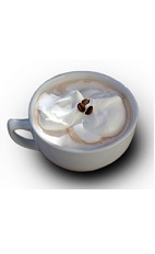 The Velvet Mocha is made from Bailey's Irish Cream, hot chocolate and whipped cream, and served in a coffee mug.