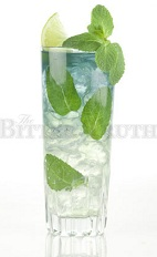 The Violet Julep is a festive variation of the classic Mint Julep. A clear and blue drink made from rum, violet liqueur, lime juice, simple syrup and mint, and served over ice in a highball or collins glass.