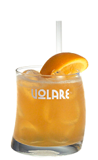The Amaretto Sour is a well-known drink recipe, and this version follows the tradition. The Volare Amaretto Sour cocktail is an orange colored drink made from Volare amaretto liqueur and sweet and sour mix, and served over ice in a rocks glass garnished with an orange wedge.