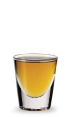 The Washington Apple is an orange colored shot made from sour apple schnapps, Canadian whiskey and white cranberry juice, and served in a chilled shot glass.