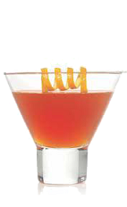 The Weekend High drink recipe is a 420 cocktail made from Stoked hemp vodka, cranberry juice and orange juice, and served over ice in a rocks glass.