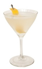 The White Lady is a refreshing fruity cocktail made from gin, Cointreau orange liqueur and lemon juice, and served in a chilled cocktail glass.