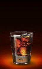 The Wicked Apple is a devilish drink recipe made from Jagermeister, apple schnapps and pineapple juice, and served over ice in a rocks glass.
