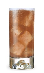 The William Tell is an orange colored drink made from DeKuyper Red Apple schnapps, citrus vodka and lemon-lime soda, and served over ice in a highball glass.