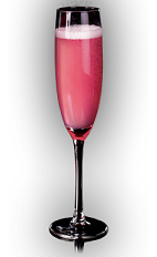 If pink is your wedding color, then this is the perfect drink for your wedding. The X-Rose is a sexy pink colored bubbly cocktail made from X-Rated Fusion liqueur and chilled rose champagne, and served in a chilled champagne flute.