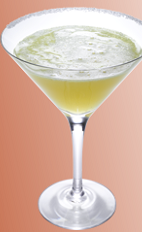 The Xante Sidecar cocktail recipe is made in the traditional Sidecar method, including Xante cognac, Cointreau orange liqueur and lemon juice, and served shaken in a chilled cocktail glass.