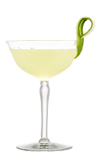 The Yellow Bird cocktail is a classic cocktail made from rum, lime juice, Galliano and triple sec, and served in a chilled cocktail glass.