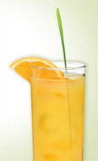 The Zudriver is a Polish version of the classic Screwdriver cocktail. An orange colored drink made from Zubrowka Bison Grass vodka, orange juice and club soda, and served over ice in a Collins or highball glass.
