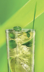 The Zujito is a Polish variant of the classic Mojito cocktail recipe. A green-ish colored drink made from Zubrowka Bison Grass vodka, lime juice, simple syrup and mint, and served over ice in a highball glass.