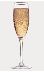 The M-Apple Fizz cocktail recipe is a refreshing blend of woodland flavors made from Burnett's maple syrup vodka and sparkling apple cider, and served in a chilled champagne flute.