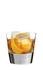 The 100 Rocks is made from lemon and Southern Comfort 100 Proof, and served over ice in a rocks glass.