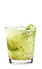 42 below kiwi caipiroska cocktail recipe with picture for Cocktail kiwi vodka
