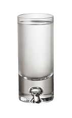 The 57 Straight Up is a clear colored shot made from Smirnoff No 57 and served in a chilled shot glass.