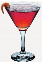 The Aqua Punch is a purple colored cocktail recipe made from Burnett's fruit punch vodka, blue curacao, grenadine and club soda, and served in a chilled cocktail glass.
