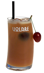 I can't talk now, I have a meeting with the Bobs. The Bob cocktail recipe is a brown colored drink made from Volare cherry brandy, amaretto liqueur, banana liqueur and orange juice, and served over ice in a highball glass garnished with cherries.