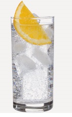 The Orange Splash is a refreshing clear colored drink recipe made from Burnett's orange vodka, tonic water and orange, and served over ice in a highball glass.