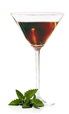 The Chocolate Martini is a brown cocktail perfectly suited to a Christmas party or any other winter festival. Made from silver tequila, Mozart Black chocolate liqueur, triple sec and lemon juice, and served in a chilled cocoa-rimmed cocktail glass.