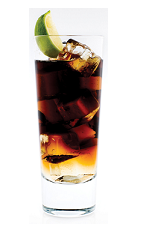 The Malibu Cola is a New World invention begging to be enjoyed while sitting beside the pool on a hot summer day. A brown colored drink made from Malibu coconut rum and cola, and served over ice in a highball glass garnished with lime.