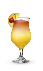 Hurricanes come and hurricanes go, and many are forgotten, but not the Mango Hurricane. An orange colored drink recipe made from Cruzan Mango rum, dark rum, orange juice and grenadine, and served in a hurricane glass full of ice.