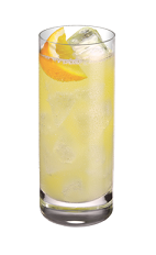 ... vodka, lemonade and a lemon, and served over ice in a highball glass
