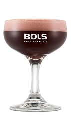 The Schwarwalder Coupe is a relaxing and flavor packed red cocktail perfect for Christmas or any holiday party. Made from Bols Barrel Aged Genever, dark creme de cacao and cranberry syrup, and served in a chilled cocktail glass or champagne coupe.