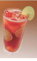When you can't enjoy the boardwalk, with the sound of the waves crashing and the smell of salt in the air, do not give up hope. You can still enjoy a Seaside Citrus Cocktail to ease your summer blues. A red colored drink recipe made from Clamato tomato cocktail, orange vodka, lemon-lime soda, lemon and orange, and served over ice in a highball glass.