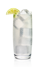 The Secret Citrus Mule drink is made from Stoli Citros citrus vodka, lime juice and ginger ale, and served over ice in a highball glass.