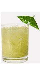 The Sour Apple Limeade drink recipe is made from Burnett's limeade ...