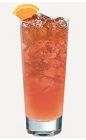 The Berry Lemonade drink recipe is a peach colored delight made from Burnett's blackberry vodka, raspberry schnapps and lemonade, and served over ice in a highball glass.