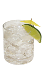 The Blockbuster Breeze drink recipe is a tropical cocktail combining the flavors of coconut rum, triple sec orange liqueur and lemon-lime soda into a rocks glass full of ice.