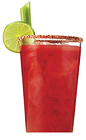 The Bloody Caesar is the most popular drink recipe made with Clamato, due to its simplicity and well-balanced flavors. A red colored drink made from Clamato tomato cocktail, vodka, Worcestershire sauce, Tabasco sauce, salt, pepper, celery and lime, and served over ice in a highball glass.