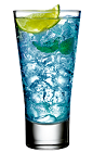 The Blueberry Mojito Rose is a sexy blue drink made in honor of the classic Mojito drink. Made from rum, club soda, Rose's mojito cordial, Rose's blueberry cordial and Rose's lime cordial, and served over ice in a highball glass.