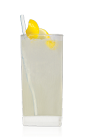 Named for the famous musician, the Bootsy Collins is a funky drink recipe made from Don Q Limon citrus rum, white rum, elderflower liqueur, cinnamon syrup, lemon juice and club soda, and served over ice in a highball glass.