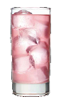 The Bubble Trouble is a pink colored drink recipe made from Three Olives bubble vodka, grenadine and club soda, and served over ice in a highball glass.