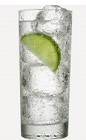 The Burnett's and Tonic drink recipe is a variation of the classic Gin and Tonic cocktail. Made from Burnett's vodka, tonic water and lime, and served over ice in a Collins glass.
