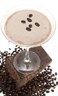 The Café Mocha is a chocolate delight perfect for dessert alongside a chocolate cake. A brown colored cocktail recipe made from Leblon cachaca, Kahlua coffee liqueur, half-and-half, espresso and chocolate syrup, and served shaken in a chilled cocktail glass.