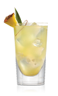 Go crazy with your coconut passion with the Coco Bongo drink recipe. A yellow colored cocktail made from Don Q Coco rum, coconut water and pineapple juice, and served over ice in an old-fashioned glass.