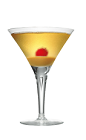 The Creamy Caramel Martini is an orange cocktail made from Smirnoff Kissed Caramel vodka, butterscotch liqueur and caramel, and served in a chilled cocktail glass.