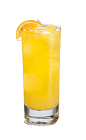 The Creamy Orange is an orange drink made from Smirnoff whipped cream vodka and orange soda, and served over ice in a highball glass.