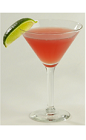 The Cucumber Cosmo is a refreshing variation of the classic Cosmopolitan cocktail. A pink colored drink made from Effen cucumber vodka, triple sec, simple syrup, lime juice and cranberry juice, and served in a chilled cocktail glass.
