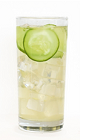 The Effen Spring Breeze is a refreshing drink made from Effen cucumber vodka, lime juice, simple syrup, pineapple, cucumber and club soda, and served over ice in a highball glass.