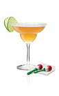 The Espolon Margarita is a slight variation of the classic Margarita cocktail, perfect for Cinco de Mayo, or any other occasion. Made from Espolon reposado tequila, lime juice and agave nectar, and served in a salt-rimmed margarita glass.