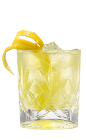 The Galliano and Bitter Lemon drink is made from Galliano L'Autentico, bitter lemon and lemon, and served over ice in a highball glass.