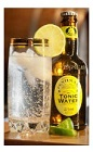 The Gin and Tonic Supreme drink recipe is made from Okanagan gin and tonic water, and served over ice in a highball glass garnished with a lime slice.