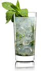 The Ginger Mint Julep is a radical variation of the classic Mint Julep drink recipe. Made from Lucid absinthe, Domain de Canton ginger liqueur, mint and club soda, and served over ice in a highball glass.