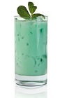 If you ever find yourself hosting a Kentucky Derby party for a bunch of paddies, then the Irish Julep is just the thing for you. A green colored drink recipe made from Basil Hayden's bourbon, green crème de menthe, mint and milk, and served over ice in a highball glass.