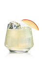 The Karamel Apple drink is made from Stoli Salted Karamel vodka, Stoli Gala Applik vodka, lime juice and agave nectar, and served over ice in an old-fashioned glass.