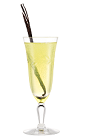 The La Dolce Vita cocktail is made from Galliano Vanilla, limoncello liqueur and prosecco, and served in any stemmed glass.