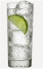 The Lime and Tonic is a unique variation of the classic Gin and Tonic drink recipe. A clear colored cocktail made from Burnett's lime vodka, tonic water and lime, and served over ice in a Collins glass.